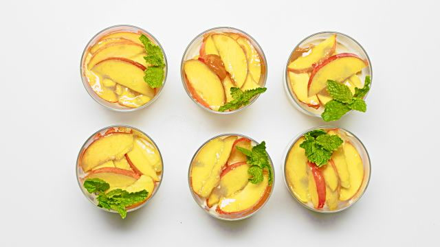 How to Make A Peach Mousse Julep