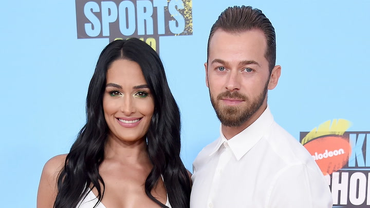 Nikki Bella's Boyfriend Artem Chigvintsev Calls Her His 'Soul Mate' As She Teases 'A New Beginning'