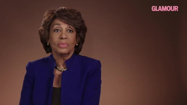 Maxine Waters: 2017 Glamour Woman of the Year