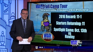 WDAY Fall Camp Tour: Barnesville Trojans 2017 Preview