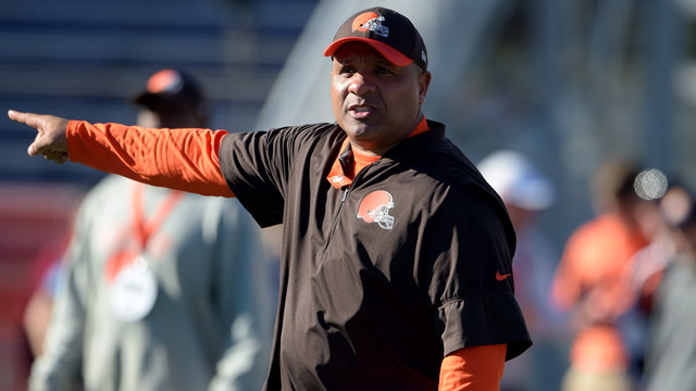 Shannon takes issue with Hue Jackson saying he doesn't want Browns players protesting