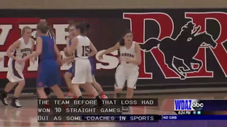 Red River girls basketball learning from their loss