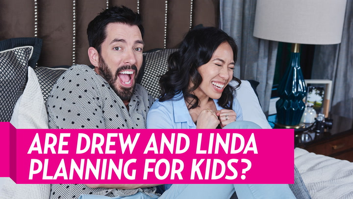 Drew Scott, Linda Phan Want Twins and May Convert Craft Room to Nursery