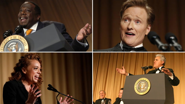 Funny moments from comedians at past White House correspondents' dinners