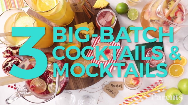 3 Big-Batch Cocktails & Mocktails Perfect For The Holidays