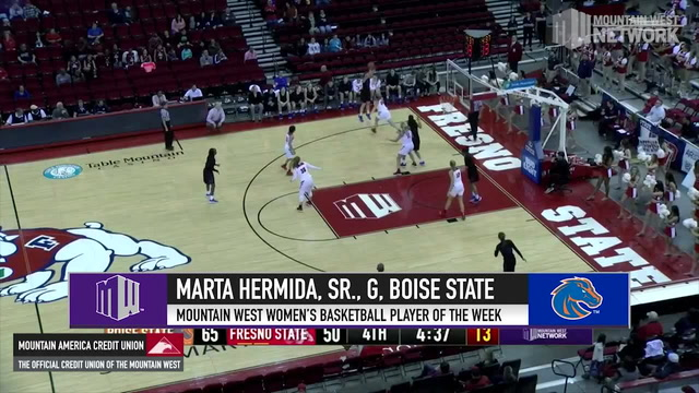 MW Women's Basketball Player Of The Week – 1/21/19