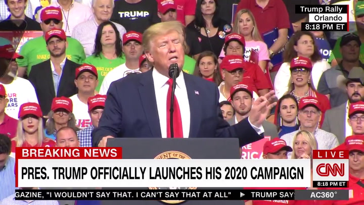 CNN Cuts Away From Trump Rally After 'CNN Sucks' Chant Breaks Out