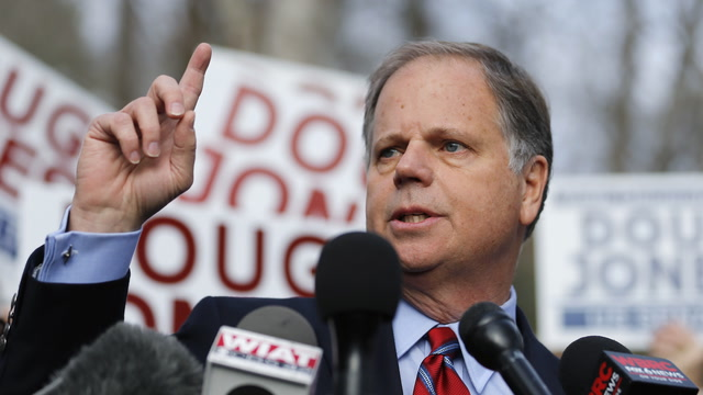 Doug Jones projected to win Alabama's U.S. Senate special election