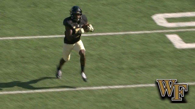 Wake Forest RB Arkeem Byrd 59-Yard TD Run | ACC Must See Moment