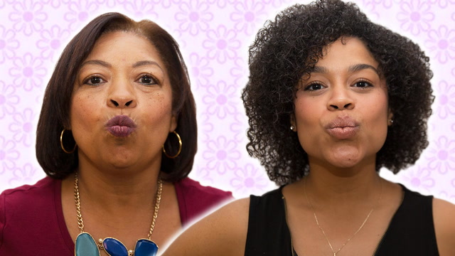 Dominican Moms & Kids Imitate Each Other