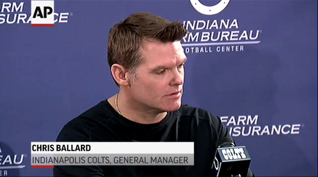 Colts GM: Drunk Driving Death of Player 'Tragic'