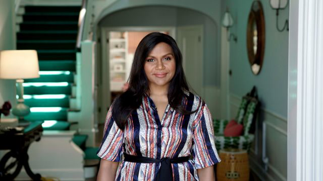 Mindy Kaling Shows Off Her L.A. Home's Vivid Color Scheme