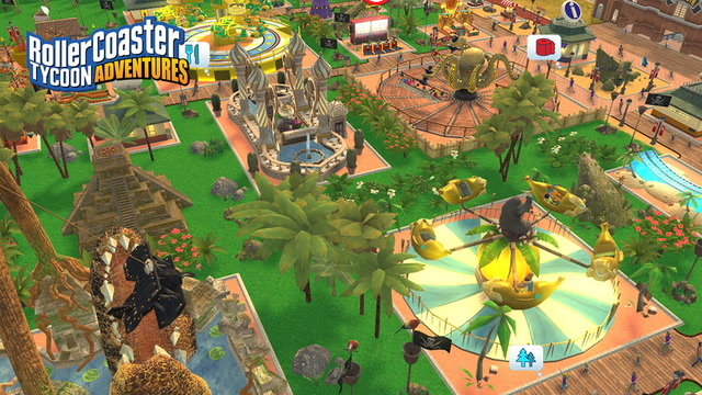 RollerCoaster Tycoon for Nintendo Switch -- Launch Trailer