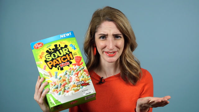 The new Sour Patch Kids cereal is 'kind of a disaster'