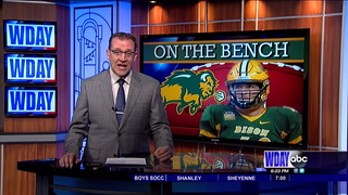 NDSU'S DeLuca frustrated by injury, but confident he'll return