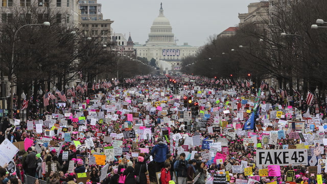 The Women's March on Washington, one year later