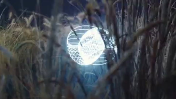 Every Music Video Should Feature A Light Painting Machine