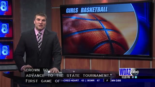 N.D. Region Four Girls Basketball