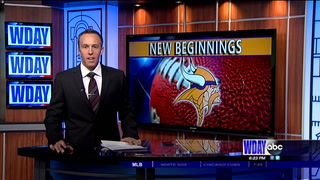 Live Report: First day of Vikings training camp