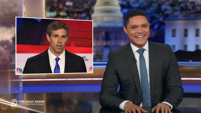 'To hear my answer in English press 1': Late-night takes aim at O'Rourke's debate Spanish skills