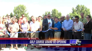 El Zagal Golf Course reopening celebration