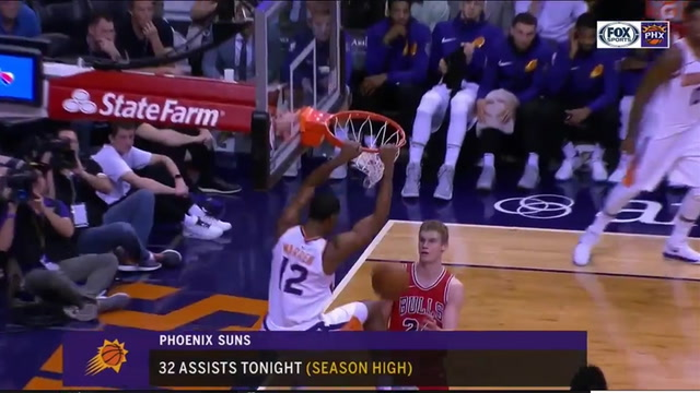 HIGHLIGHTS: Suns with 32 assists in win over Bulls
