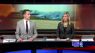 Several grass fires reported in rural Clay County