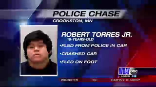 Crookston man arrested on multiple counts after high speed chase