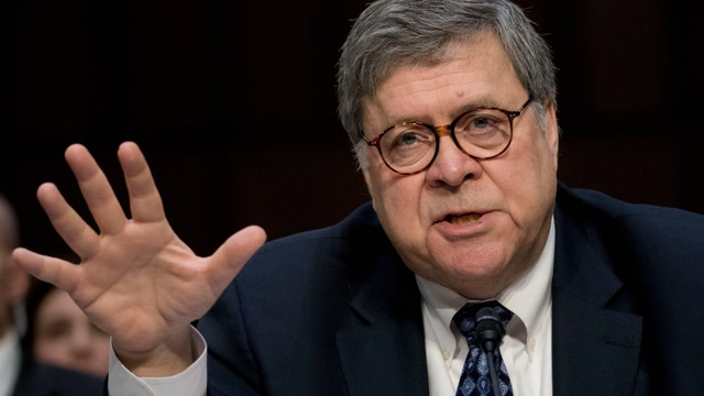 Barr: President ending investigation for political purposes 'abuse of power'