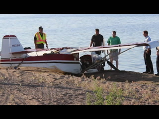Officials recover plane from Lake Thompson