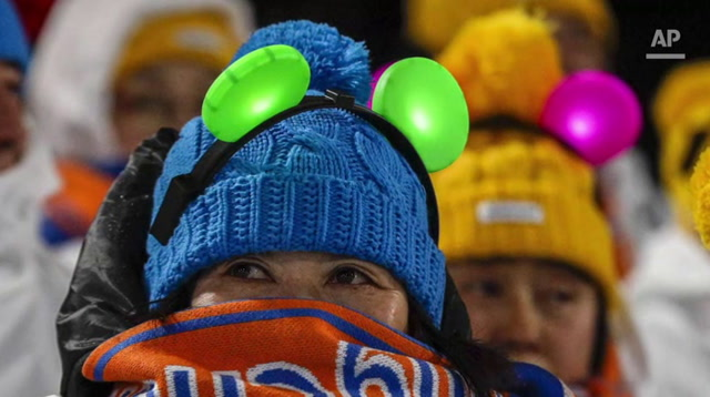 Athletes and Fans Endure Bitter Olympic Cold