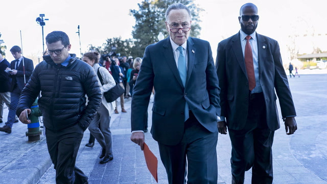 Government funding lapses after spending bills stalls in Senate