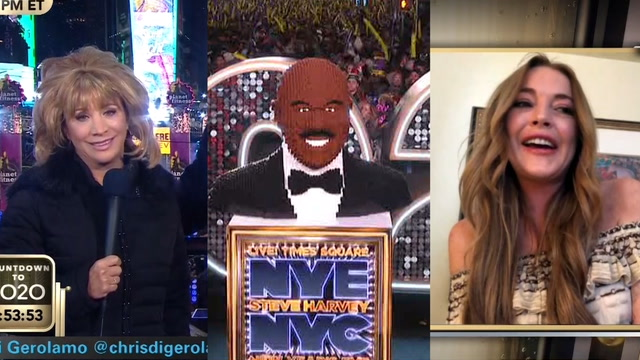 Lindsay Lohan, LEGO and a Barbara Walters skit: What you missed on New Year's Eve