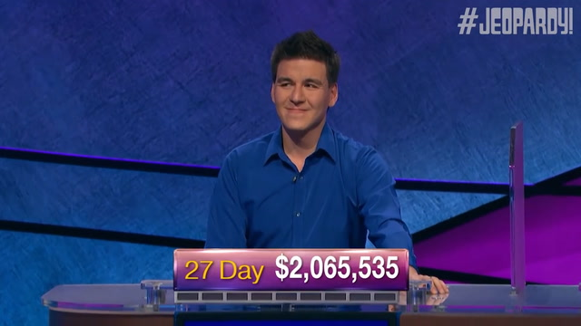 A look at James Holzhauer's Jeopardy! hot streak