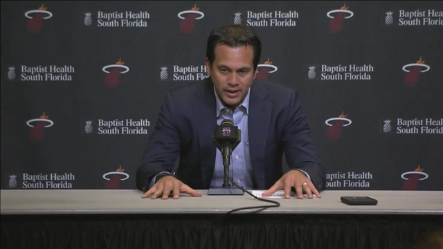 Erik Spoelstra: I don't have answers right now for the uninspiring play