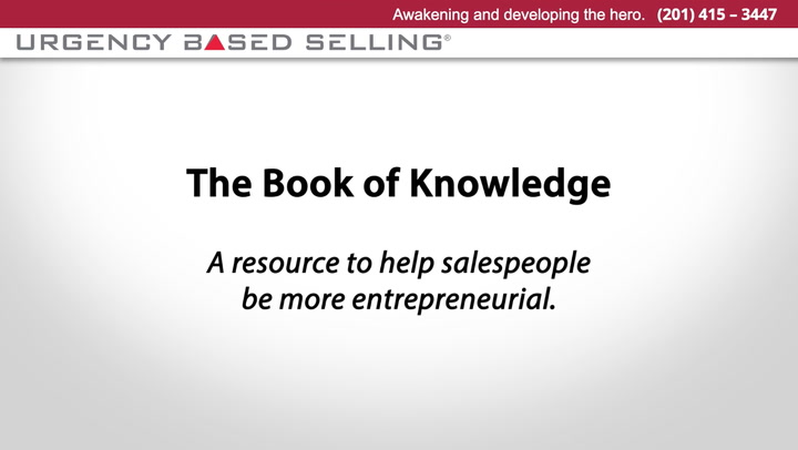 The Book of Knowledge in Sales | Andy Gole