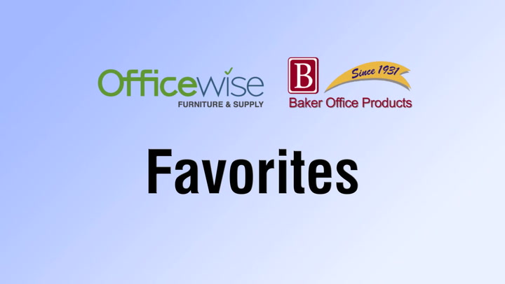 Save Favorites on shop.BakerOfficeProducts.com