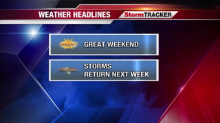 StormTRACKER Saturday Midday Weather Update