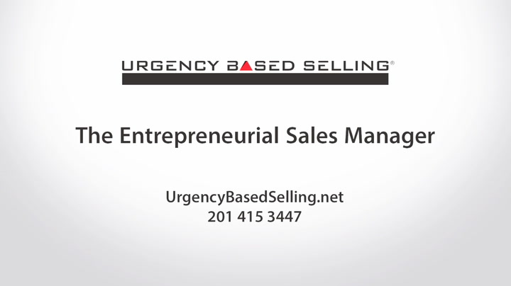 The Entrepreneurial Sales Manager | Andy Gole