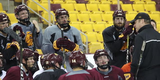 Bulldogs prepare for Frozen Four