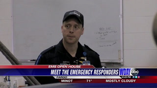 Sanford health hosts an EMS open house
