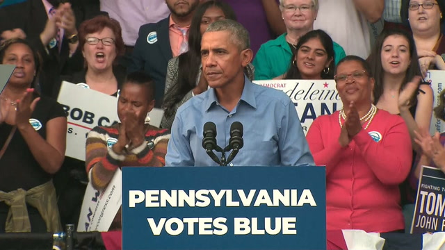 Obama on midterms: 'Chance to restore sanity in politics'