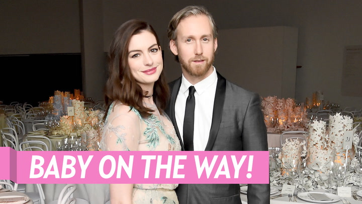 Anne Hathaway Celebrates Her Birthday With a Glowing Baby Bump Pic: 'Feeling So Much Love!'