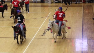King Turkey Day Donkey Basketball fundraiser