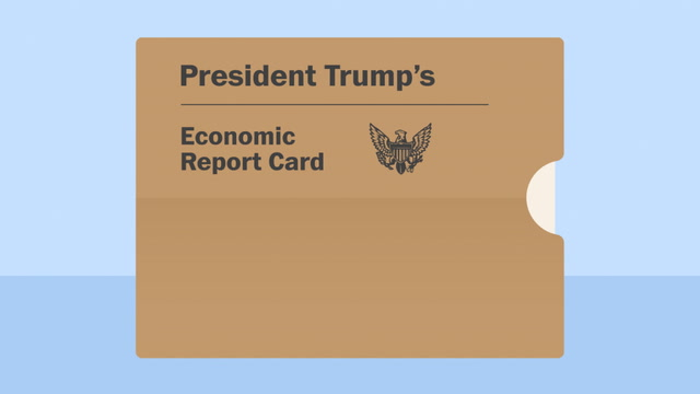 Trump's economic report card