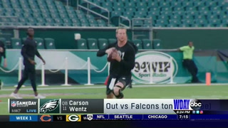Carson Wentz cleared to play, will start Sunday