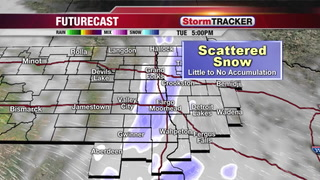 Tracking Light Snow Tuesday