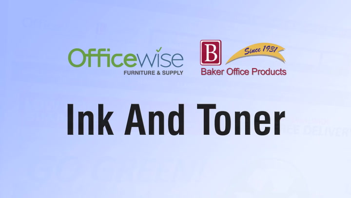 Ink and Toner at shop.BakerOfficeProducts.com