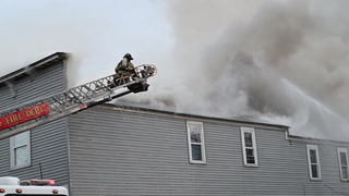 Crosby Fire Leaves Residents Without Homes
