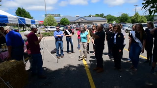 June Is Dairy Month Milking Contest at Culvers of Baxter